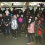 Effroyable succès pour la première marche d'Halloween