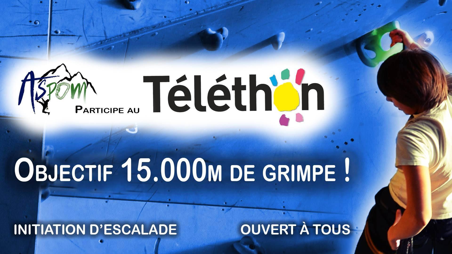 ASPOM : Journée Téléthon le 14 décembre