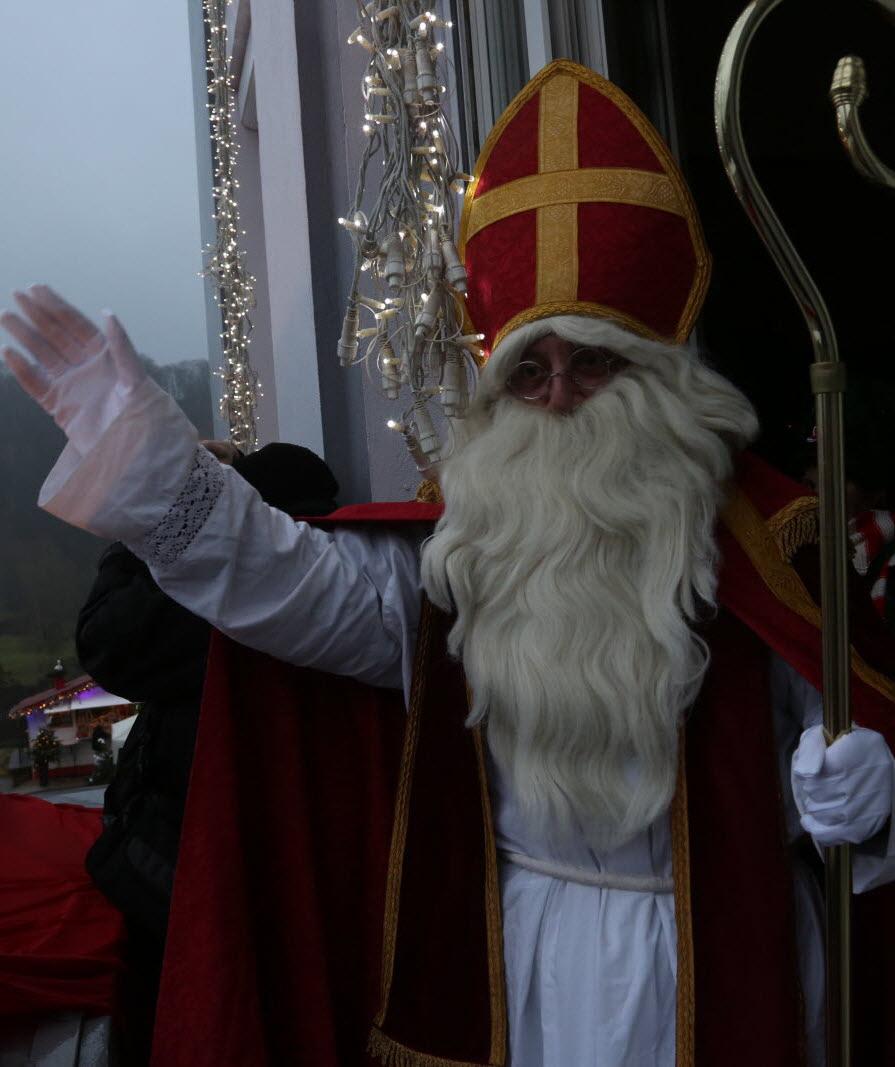 Saint Nicolas en vedette au marché de Noël