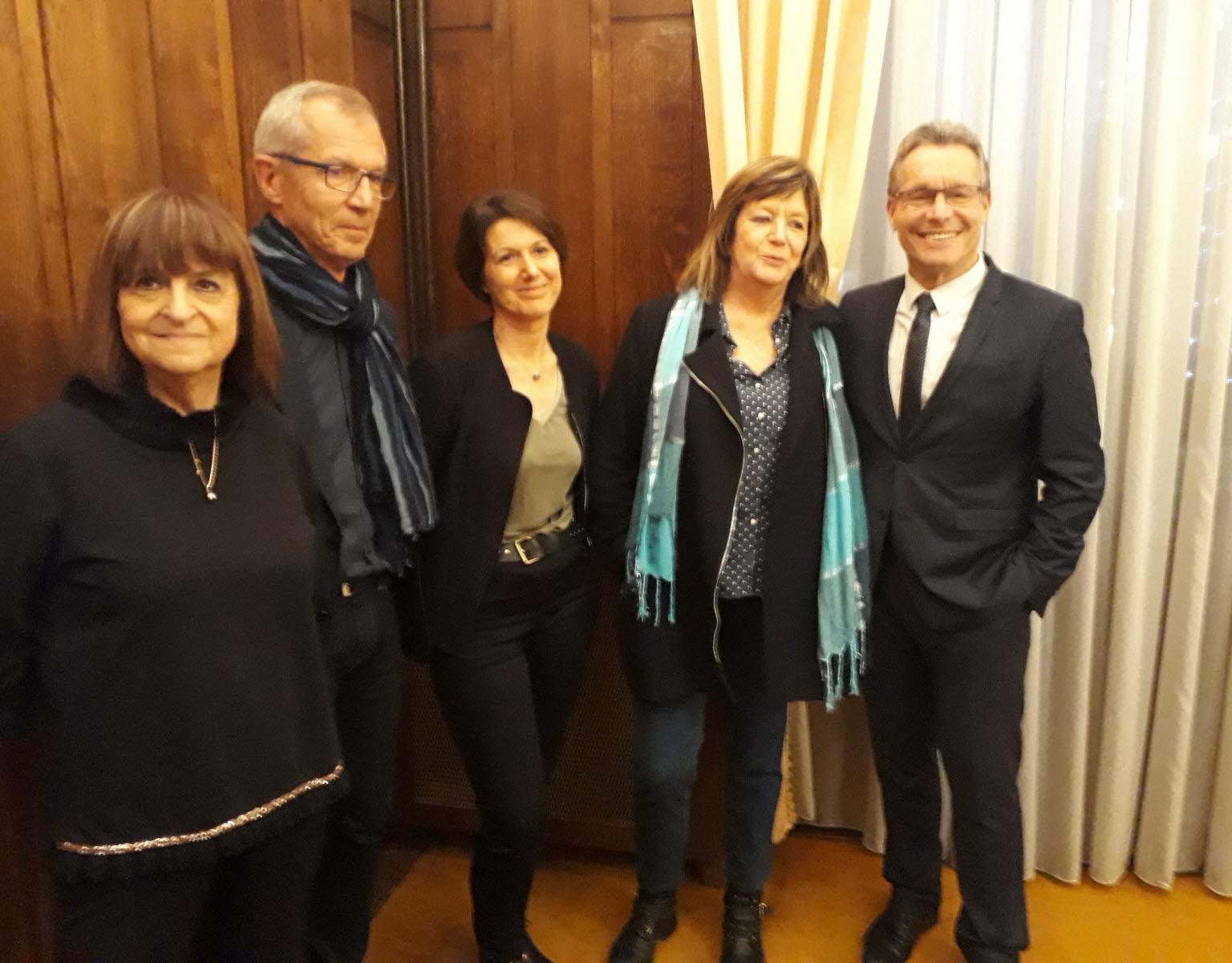 Les enseignants invités par la municipalité