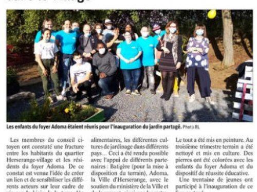 Conseil Citoyen: Un jardin partagé et solidaire dans le village