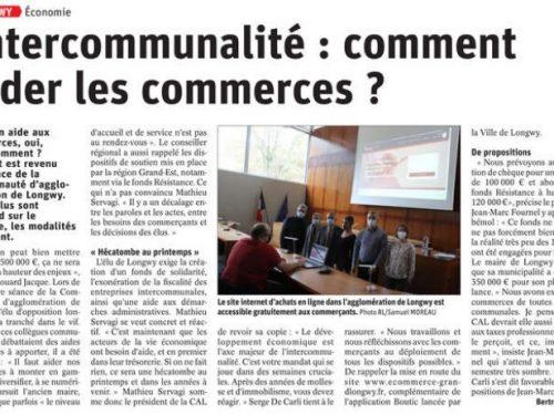 Intercommunalité: Comment aider les commerces?